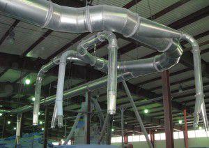 промышленная вентиляция – громоздкое и дорогостоящее оборудование