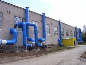 промышленные пластиковые воздуховоды