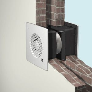 бесканальная система вентиляции через стену