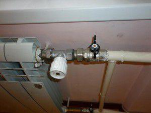 Обвязка радиатора отопления