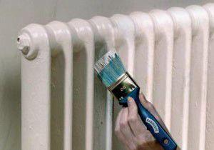 Покраска радиатора алкидной краской