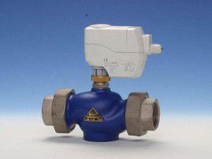 Двухходовой клапан для отопления