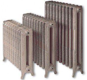 Чугунные дизайнерские радиаторы