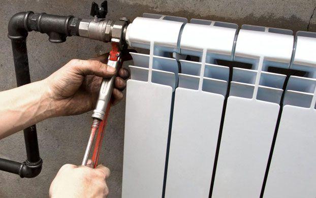 Звук воды в батареях при включенном отоплении