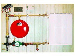 Отопление с энергосберегающим котлом