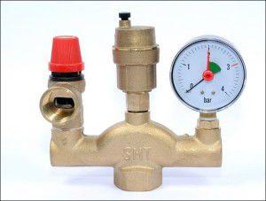 Группа безопасности водяного отопления