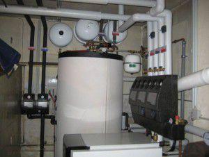 Блок управления отоплением в многоквартирном доме