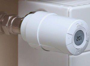Терморегулятор радиатора отопления