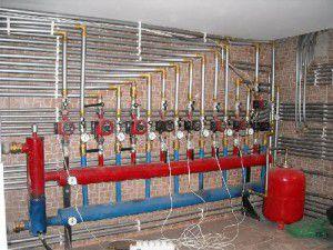 Водяное отопление цеха