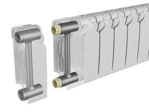 Конструкция секционных радиаторов