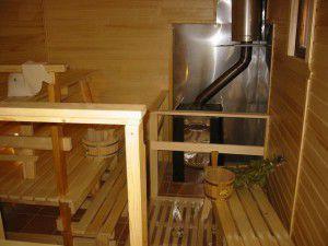 Газовое отопление бани
