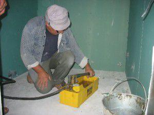 ручной насос для опрессовки и заполнения отопления антифризом
