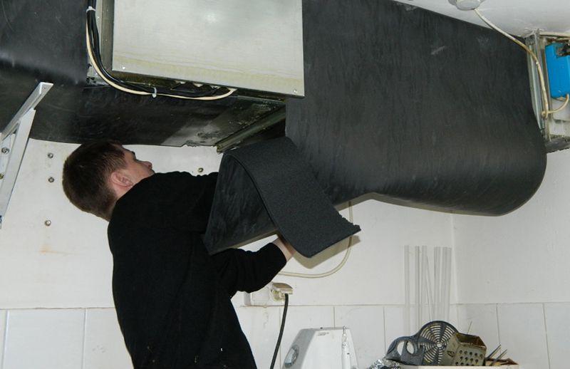 Звукоизоляция вентиляции в квартире
