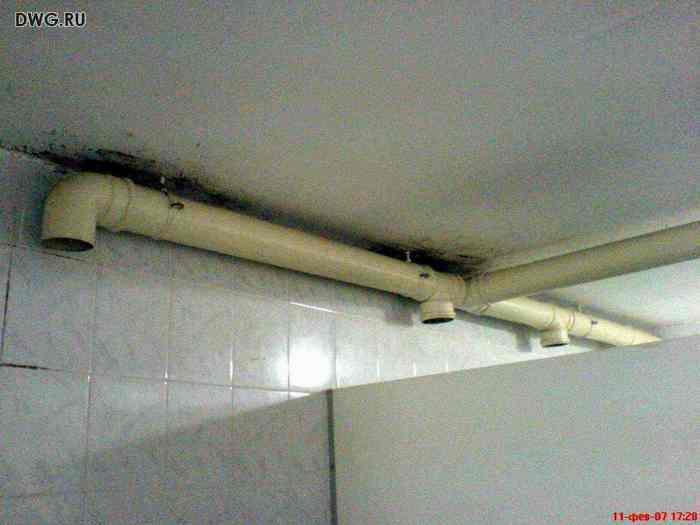 Вентиляция из канализационных пластиковых труб своими руками