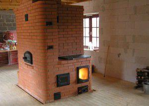 Печь как основной источник тепла в доме