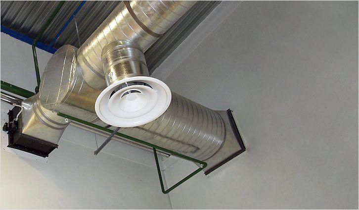 Как сделать канальный воздуховод