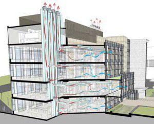 вентиляция многоэтажного здания