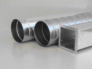 воздуховоды различного диаметра и формы сечения