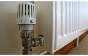 Терморегулятор в обвязке стального радиатора