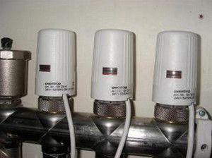 Терморегуляторы в коллекторе