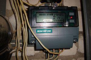 Многотарифный электросчетчик