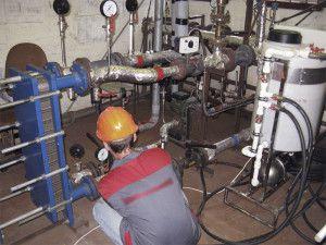Помывка отопления в многоквартирном доме