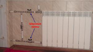 Обвязка радиаторов в отоплении Ленинградка