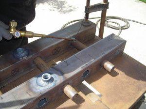 Процесс изготовления сварного коллектора