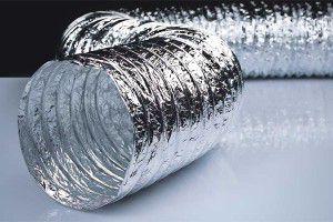 гибкий воздуховод из алюминиевой фольги