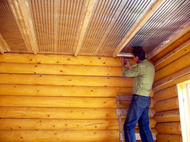 какие потолки установить в неотапливаемом зимой доме понравилось