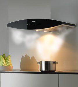кухонная вытяжка может быть украшением интерьера
