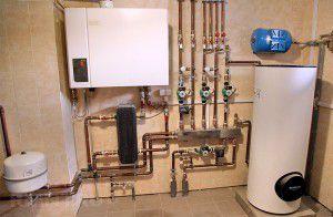 Водяная система отопления дома