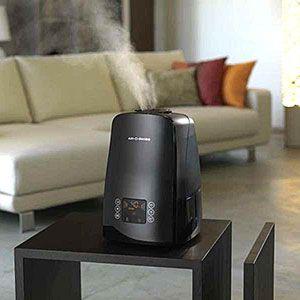Увлажнения воздуха в доме