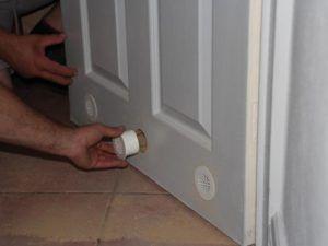 Круглые решетки для двери