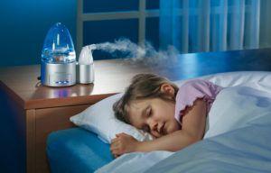 Увлажнитель воздуха улучшает сон