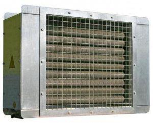 Один из вариантов электрического калорифера