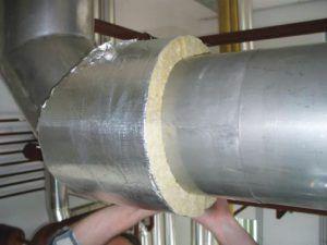 утепление вентиляционной трубы