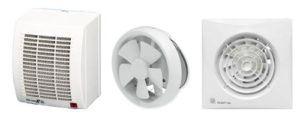 Варианты вентиляторов для ванной комнаты