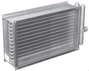 Водяной калорифер для приточной вентиляции