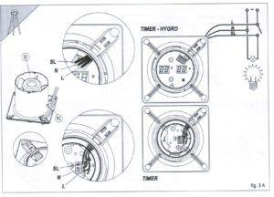 Схема подключения вентилятора в ванной