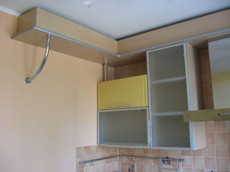 Труба от вытяжки на кухне как спрятать