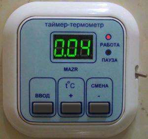 Панель управления вентилятором с таймером и гидростатом