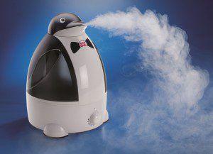 Паровой увлажнитель воздуха для детей