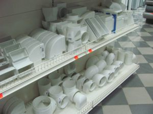 Комплектующие вентиляционной системы