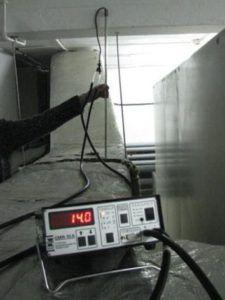 Замер эффективности вентиляции