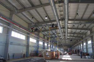 производственная система притока и отвода воздушных потоков