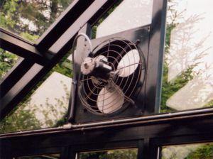 Вентилятор с заслонкой