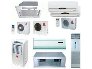 Модельный ряд оборудования Chigo