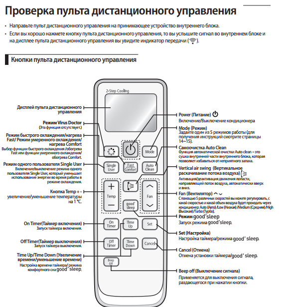 Samsung как включить режим кондиционера кондиционеры леруа краснодар