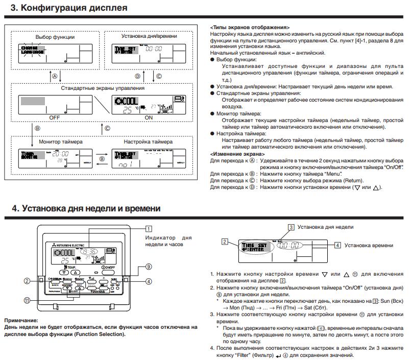 инструкция по монтажу кондиционера mitsubishi electric